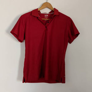 Adidas Climacool Red Golf Polo M